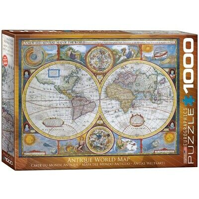 EG60002006 - Eurographics Puzzle 1000 Pc - Antique World Map