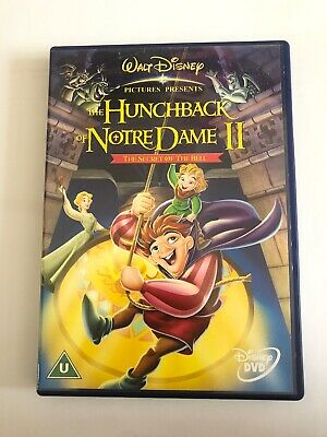 The Hunchback of Notre Dame 2 - The Secret of the Bell (Disney) DVD (2002) Walt