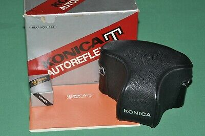 Konica Autoreflex T With Konica Hexanon Ar 57 F 1,4, All Like New, Perfect