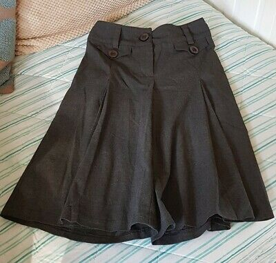 Girls Next Grey school scorts ( shorts looking like skirt ) age 11 years