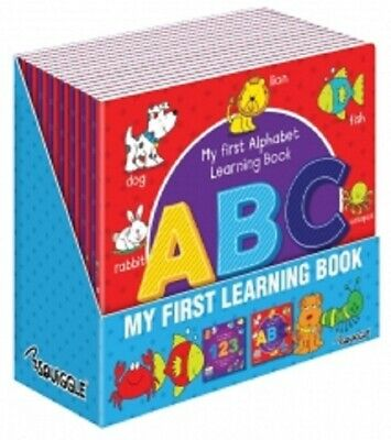 Children Activity Educational My First 123 &  ABC Learning Book Writing Reading
