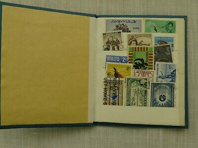 MIXED STAMP COLLECTION (MAINLY COMMONWEALTH COUNTRIES) COLLECTED IN THE 1960's