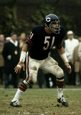 DICK BUTKUS Poster G.O.A.T Goat Greatest All Time Poster [24 x 36] Inch 2