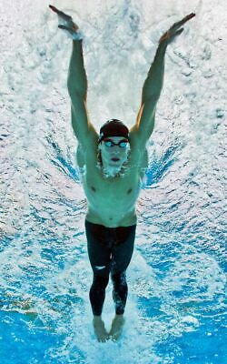 MICHAEL PHELPS Poster G.O.A.T Goat Greatest All Time [24 x 36] Inch 2