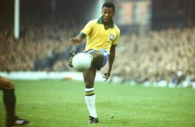 PELE Poster G.O.A.T Goat Greatest All Time [24 x 36] Inch 1