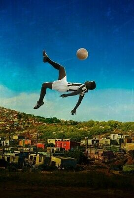 PELE Poster G.O.A.T Goat Greatest All Time [24 x 36] Inch 3