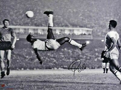 PELE Poster G.O.A.T Goat Greatest All Time [24 x 36] Inch 4