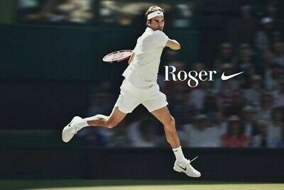 ROGER FEDERER Poster G.O.A.T Goat Greatest All Time [24 x 36] Inch 3
