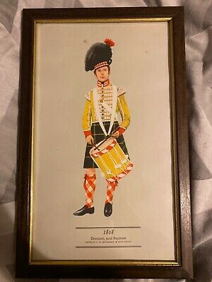 PH Smitherman British Military Uniform Art Print 1808 Drummer 92nd Regiment
