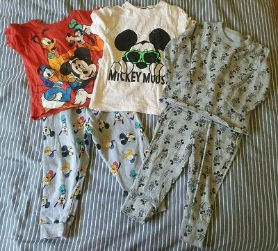 Boys Mickey Mouse Clothing Bundle Age 18 - 24 Months