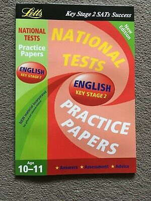 National Test Practice Papers 2003: Key stage 2: English by Letts Educational...