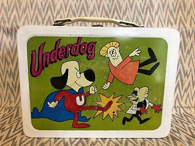 1974 Underdog Lunch Box Lunchbox