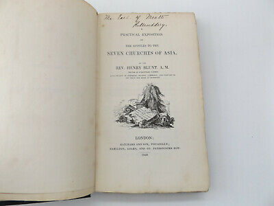 1838 A Practical EXPOSITION of the EPISTLES to the SEVEN CHURCHES of ASIA Bible