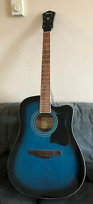 Ibanez Acoustic Guitar Project - Parts Or Repair V70CE-TBS