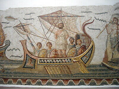 """12 HELLENISTIC MOSAICS -MOUNTED EXHIBITION GRADE  IMAGE SIZE 9 x13"""" Reproduction"""