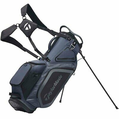 BRAND NEW - Taylor Made Stand 8.0 Golf Bag - Charcoal/Black
