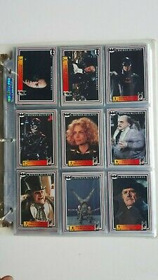 Batman Returns Movie Collector Dynamic 1992 Base Card Set 143 of 150 in Sleeves