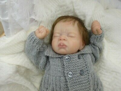 Anna a beautiful  little  reborn baby girl relisted due to time waister