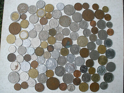 Coin Collection : 110+ Different Coins : Bulk
