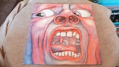 King Crimson / In The Court Of The Crimson King Polydor Issue A1/B5 - Vg++