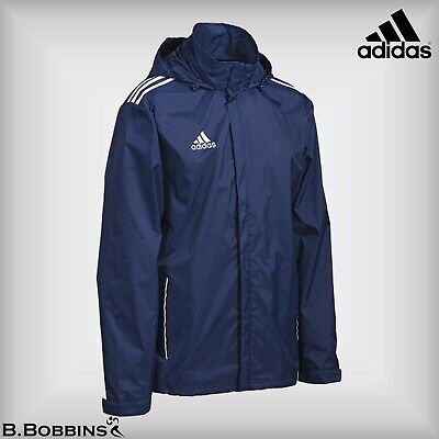 ⚽ SALE - Adidas Performance Core 11 Rain Jacket Age 13-14 Years Boys Girls