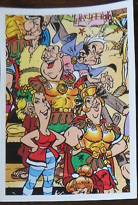 Carte panini N° D   Asterix sticker carrefour 2019
