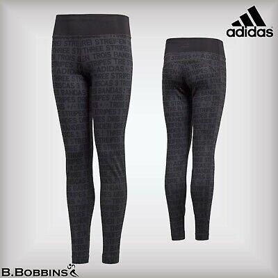 🔥 SALE - Adidas Climalite® Age 5-6 Years Euro 116 Girls Carbon Training Tights