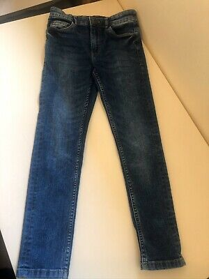 Next Boys Skinny Jeans Blue Denim Age 9