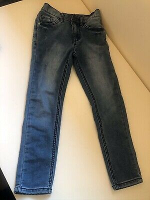Next Boys Skinny Jeans Soft Blue Denim Age 7