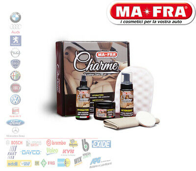 Ma-Fra Charme Leather Care Trattamento Interni Pelle Auto Kt017