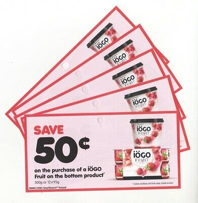 15 x Save $0.50 on Iogo Fruit on the Bottom Yogurt Coups (Canada)
