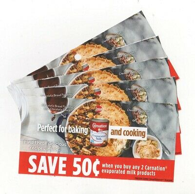 14 x Buy 2 Save $0.50 on Carnation Evaporated Milk Products Coups (Canada)