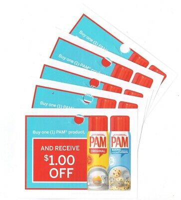 14 x Save $1.00 on any Pam Products Coups (Canada)