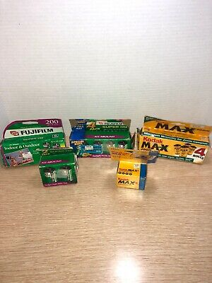 35 mm Film Lot of 13 Expired - Kodak Fuji - 24 Exposure - New Never Used
