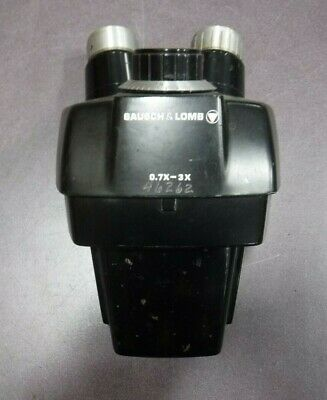 Bausch & Lomb 0.7X - 3X Stereo Zoom Microscope Head (NO Objectives)