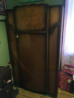 Vintage Art Deco Gentlemen's1930's 1940's Wardrobe, CWS Ltd