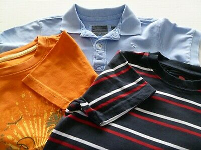 3 Boys  Short Sleeved T Shirts Age 4 - 6 years