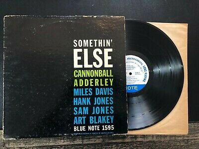 Cannonball Adderley Somethin' Else Blue Note BLP 1595 MONO Deep Groove RVG NYC