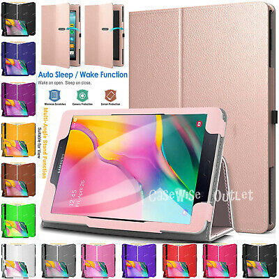 """Folio Leather Flip Smart Stand Case Cover For Samsung Galaxy Tab A 10.1"""" In 2019"""