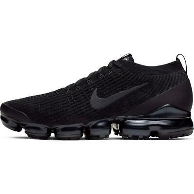 New  Nike Air Vapormax Flyknit 3  Black Sz  8-11  Aj6900-004 New