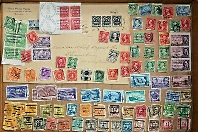 Vintage United States Stamp Collection #10 used misc
