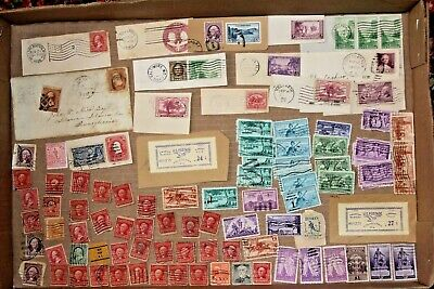 Vintage United States Stamp Collection #12 used misc