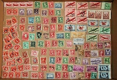 Vintage United States Stamp Collection #16 used misc