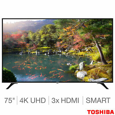 "Toshiba 75U6763DB 75"" 4K Ultra HD Smart TV Freeview HD HDR"