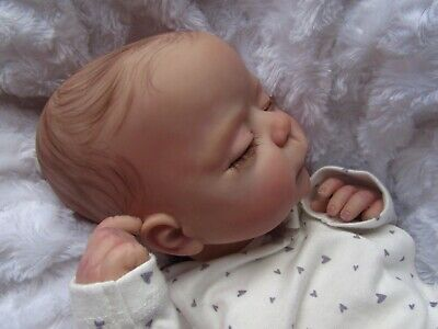 ~Beautiful  Reborn Baby Girl From The Penny Sculpt By Linda Murry With Coa~