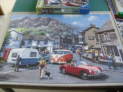 Ravensburger 1000 piece jigsaw - 'Happy Days, Lake District' - 100% complete