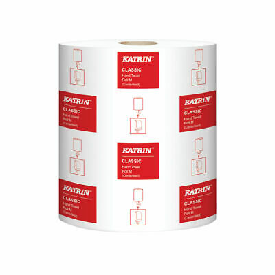 Katrin Classic Hand Towel Roll 2-Ply White (Pack of 6) 481911