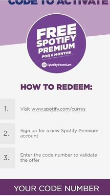 🔥Spotify Premium 6 Months🔥(Digital Code So I Will Message U It)100% Authentic