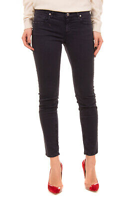 RRP €145 LATINO Jeans Size 27 Stretch Garment Dye Faded Zip Slim Made in Italy