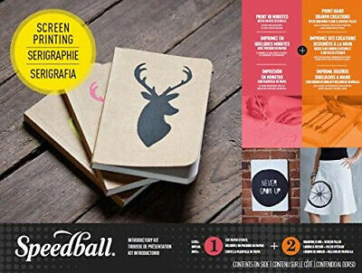 Speedball Screen Printing Introductory Kit. Free Shipping